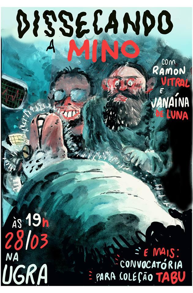 4ª (28/3) é dia de bate-papo com Janaína de Luna, editora da Mino, em São Paulo