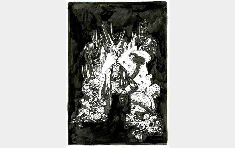 The Art of Mike Mignola: uma exposição dedicada à carreira do criador do Hellboy
