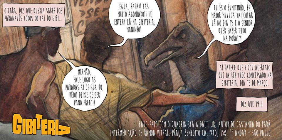 5ª (15/3) é dia de papo com Gidalti Jr. sobre o álbum Castanha do Pará, em SP