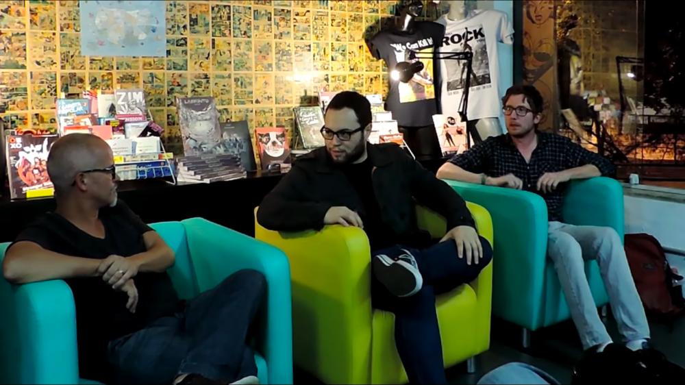 Uma conversa com os quadrinistas Wagner Willian e Thiago Souto