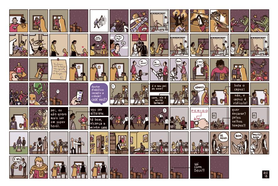 Série Postal 2018: a HQ produzida por Alexandre S. Lourenço para a coleção