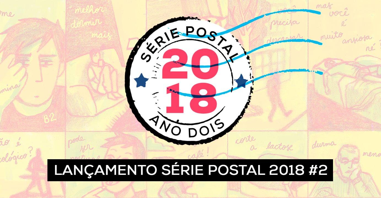 5ª (19/4) é dia de lançamento da HQ de Raquel Vitorelo para a Série Postal