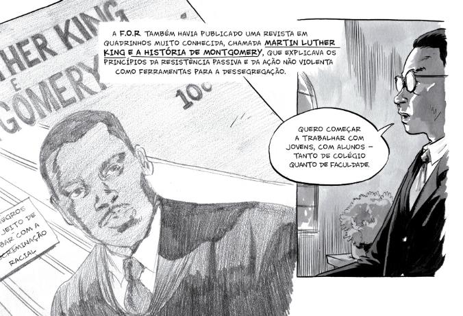 ## Retrospectiva Vitralizado 2018 ## A Marcha – Livro 1: John Lewis e Martin Luther King em Uma História de Luta Pela Liberdade (Nemo), por John Lewis, Andrew Aydin e Nate Powell