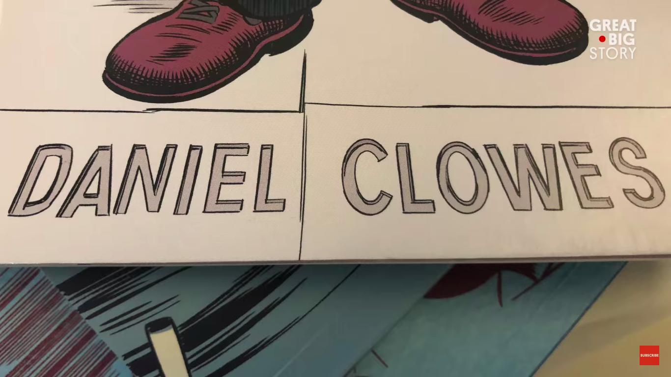 Daniel Clowes, por Woody Harrelson