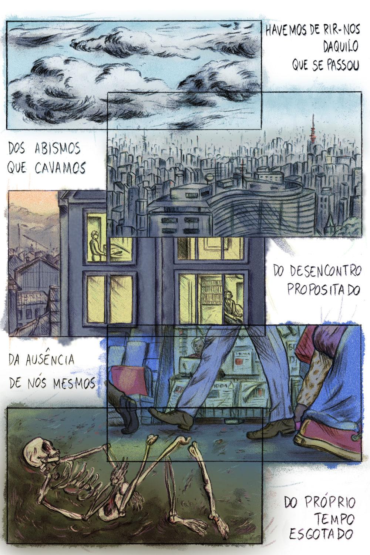 Série Postal 2018: a HQ produzida por Cecília Silveira para a coleção
