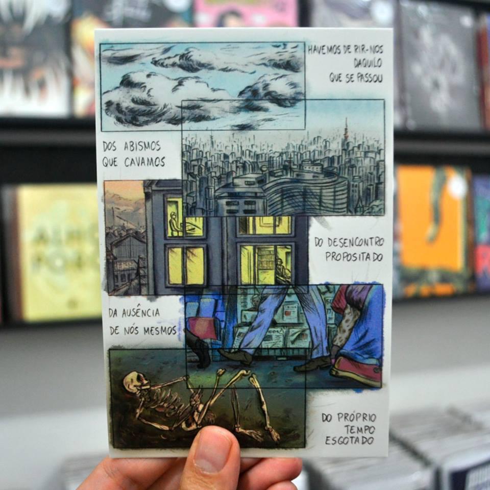 Cecilia Silveira e a produção do terceiro número da Série Postal 2018