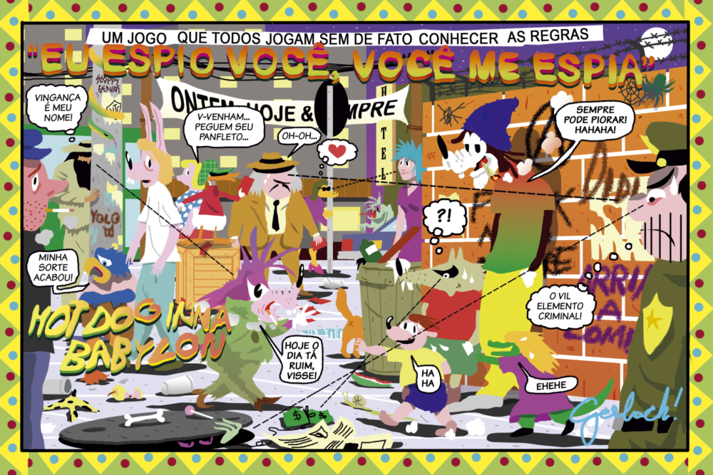 Série Postal + Know-Haole + Diego Gerlach na Feria Des.Gráfica 2018