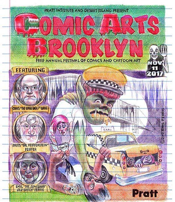 Comic Arts Brooklyn, por Emil Ferris