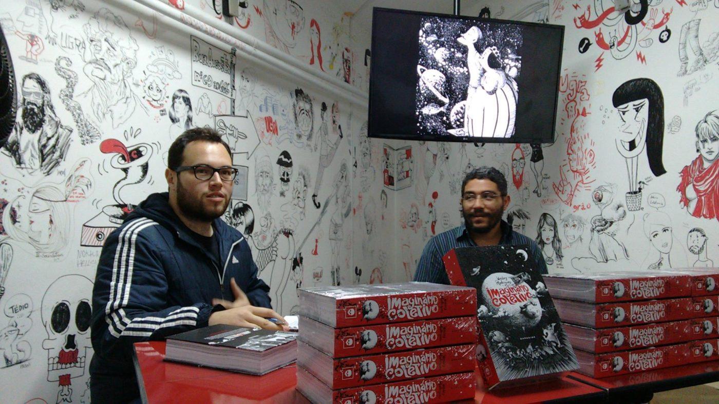 Uma conversa com Wesley Rodrigues sobre a HQ Imaginário Coletivo
