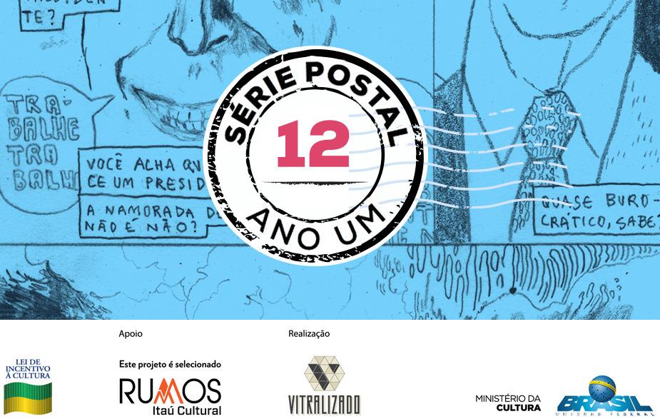 Série Postal é indicada na categoria Publicação Mix do 30º Troféu HQMIX