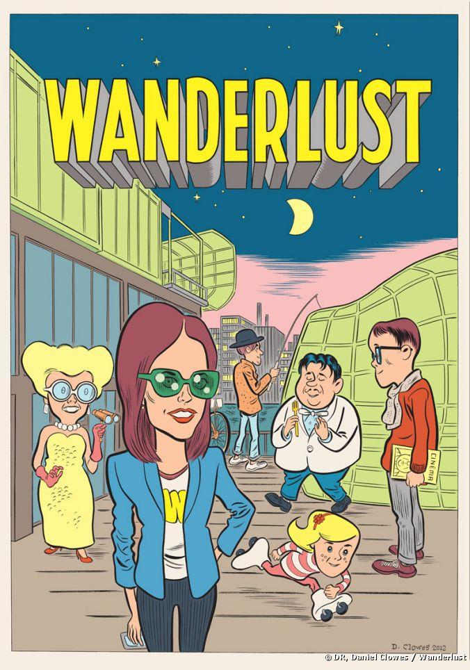 Wanderlust, por Daniel Clowes