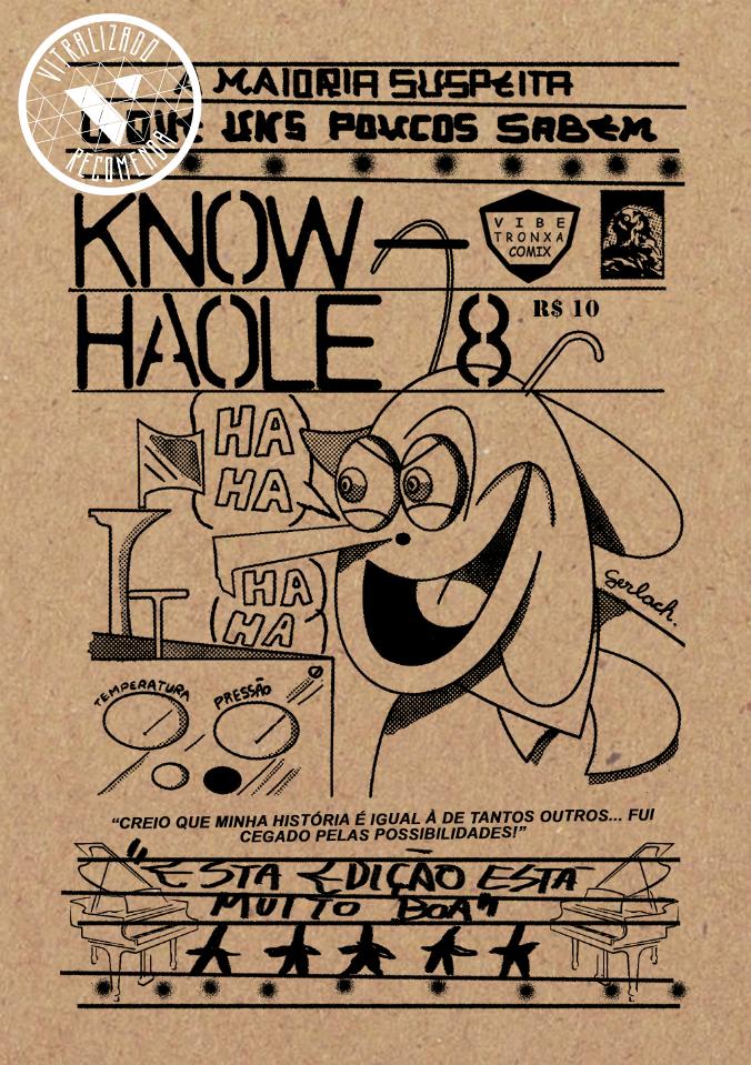 Vitralizado Recomenda #0024: Know-Haole #8 – Santuários & Altares (Vibe Tronxa Comix), por Diego Gerlach