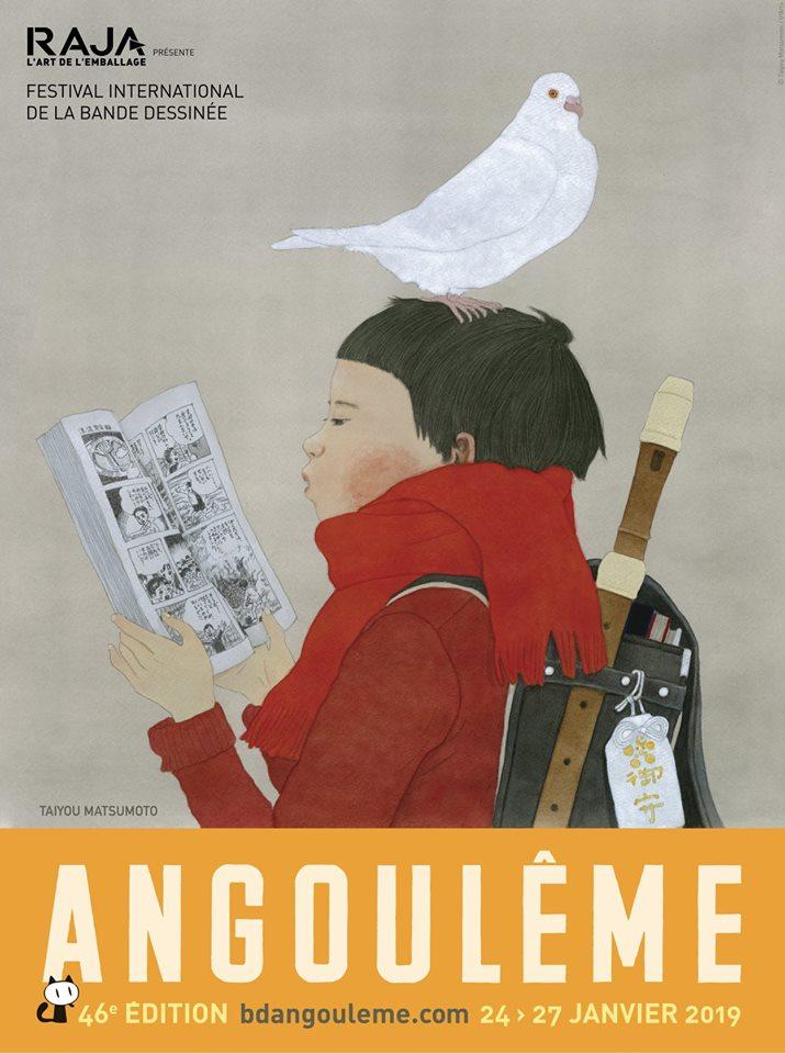 Festival International de la Bande Dessinée d'Angoulême 2019, por Taiyo Matsumoto