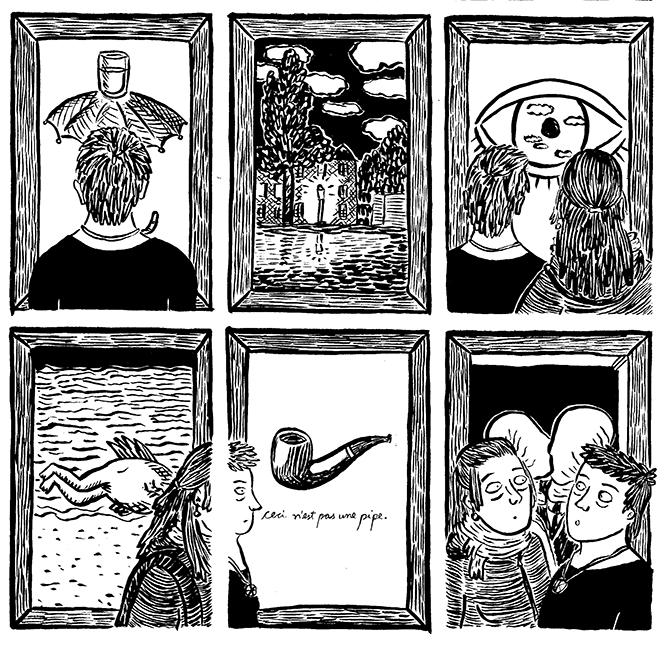 ## Retrospectiva Vitralizado 2018 ## Ugrito #17 – Óleo Sobre Tela (Ugra Press), por Aline Zouvi