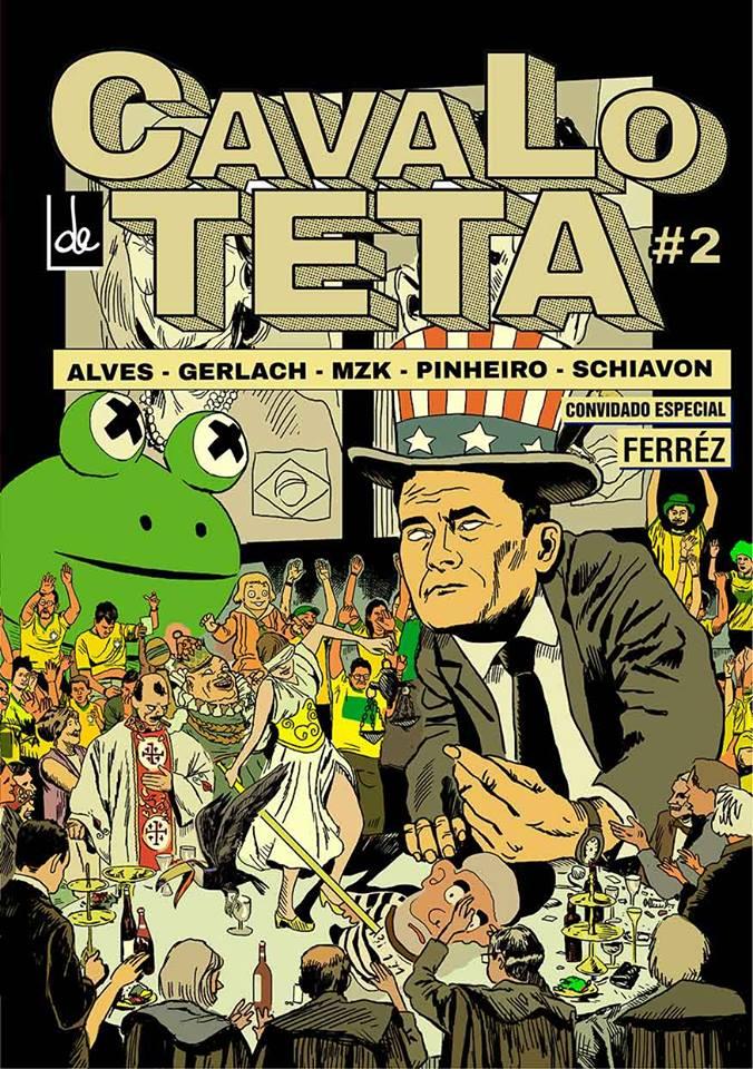 Cavalo de Teta: confira a capa e uma prévia do segundo número da revista editada por João Pinheiro