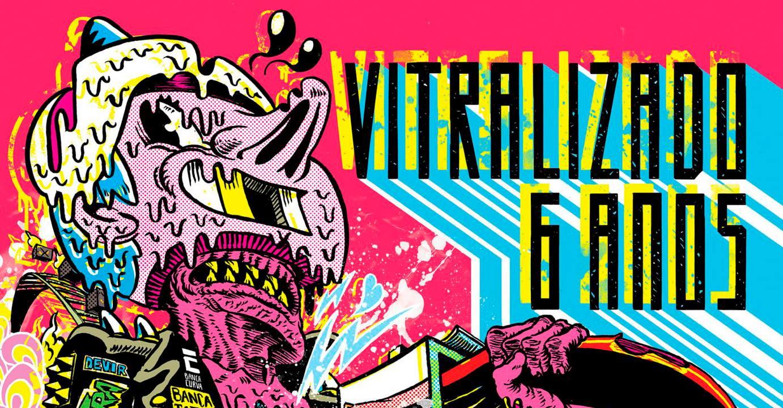 Sábado (13/10) é dia de festa de aniversário de seis anos do Vitralizado!