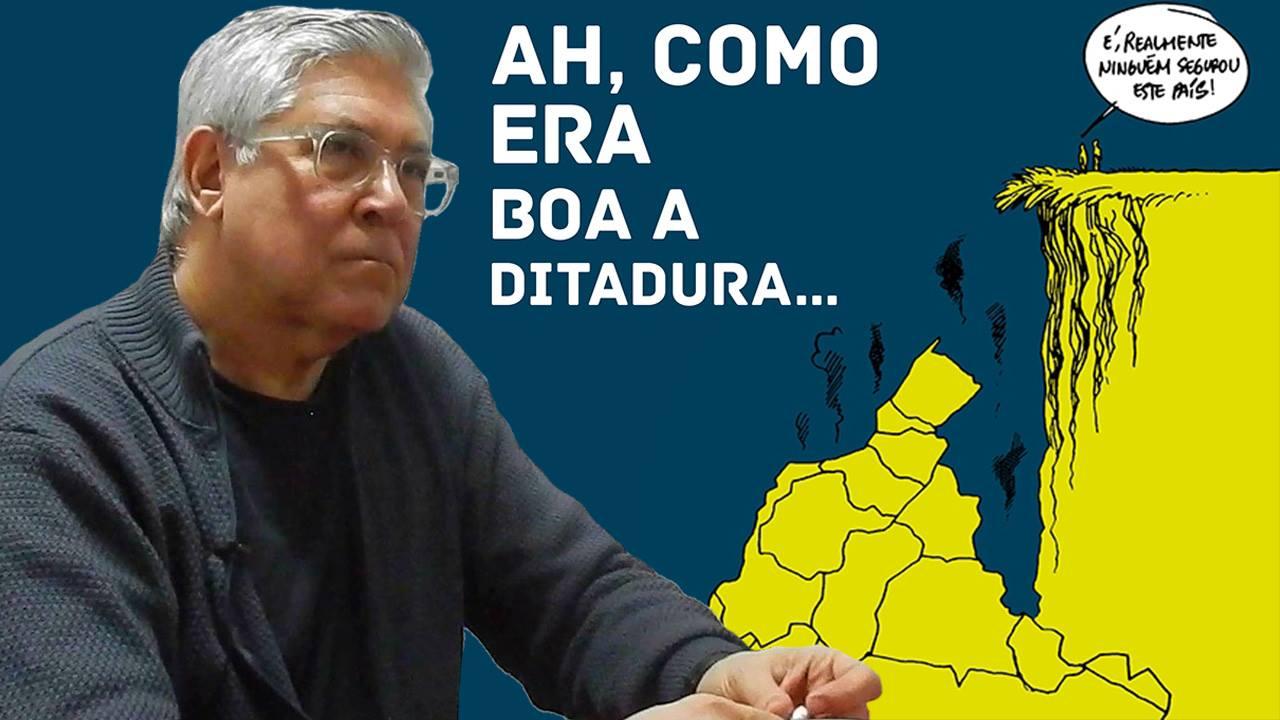 """Luiz Gê: """"O que está acontecendo é um grande ataque à liberdade"""""""