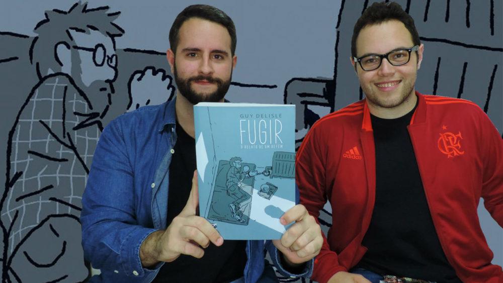 Uma conversa com Carlos Neto sobre Fugir – O Relato de um Refém e os quadrinhos de Guy Delisle