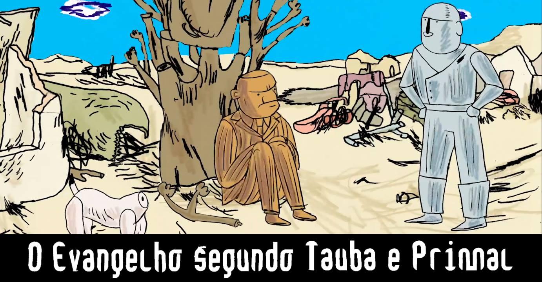 6ª (16/11) é dia de sessão gratuita de O Evangelho Segundo Tauba e Primal e papo com Fabio Zimbres