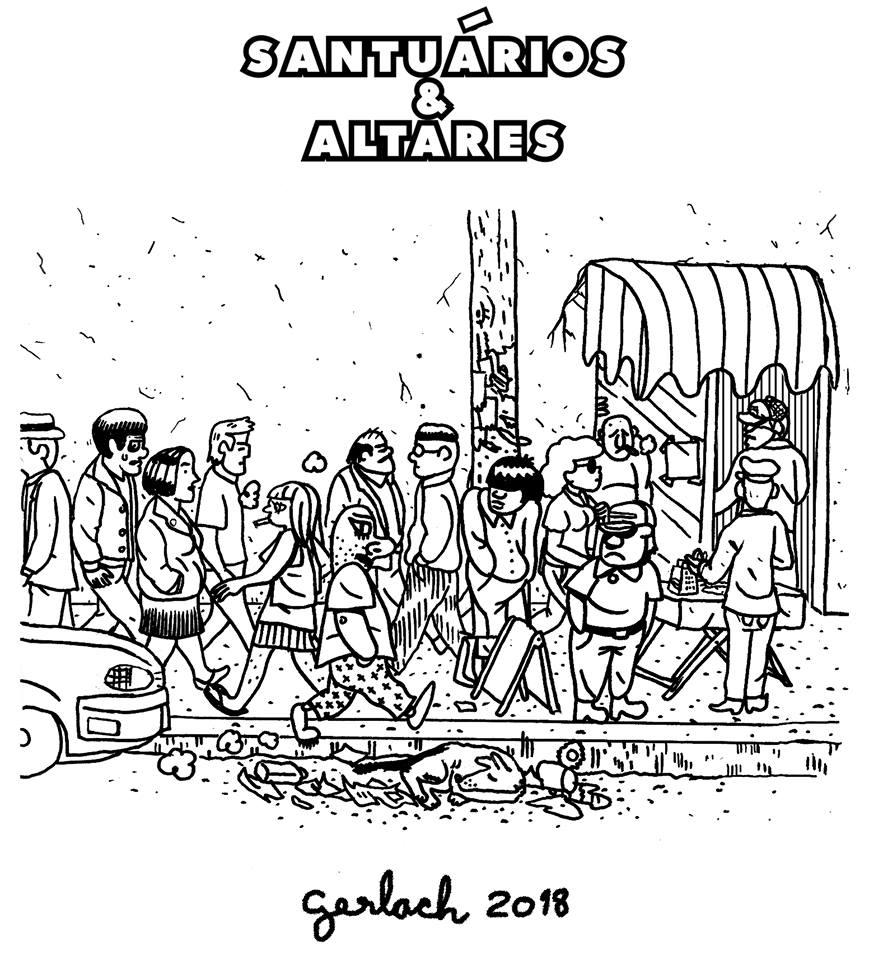 ## Retrospectiva Vitralizado 2018 ## Know-Haole #8 – Santuários & Altares (Vibe Tronxa Comix), por Diego Gerlach