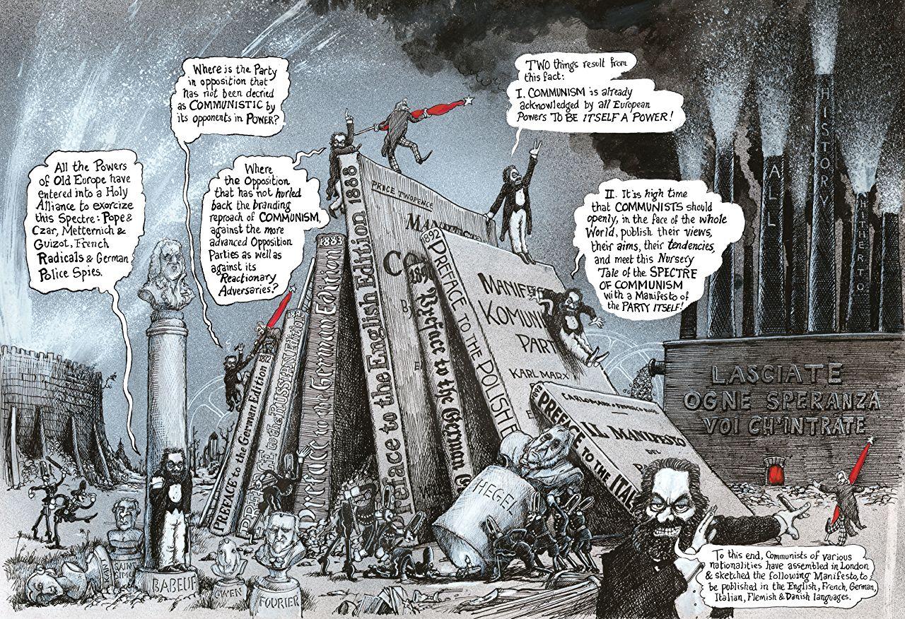 O Manifesto Comunista em Quadrinhos, Marcello Quintanilha, Ed Piskor, Camilo Solano e Juscelino Neco: confira os lançamentos da Veneta para os primeiros meses de 2019