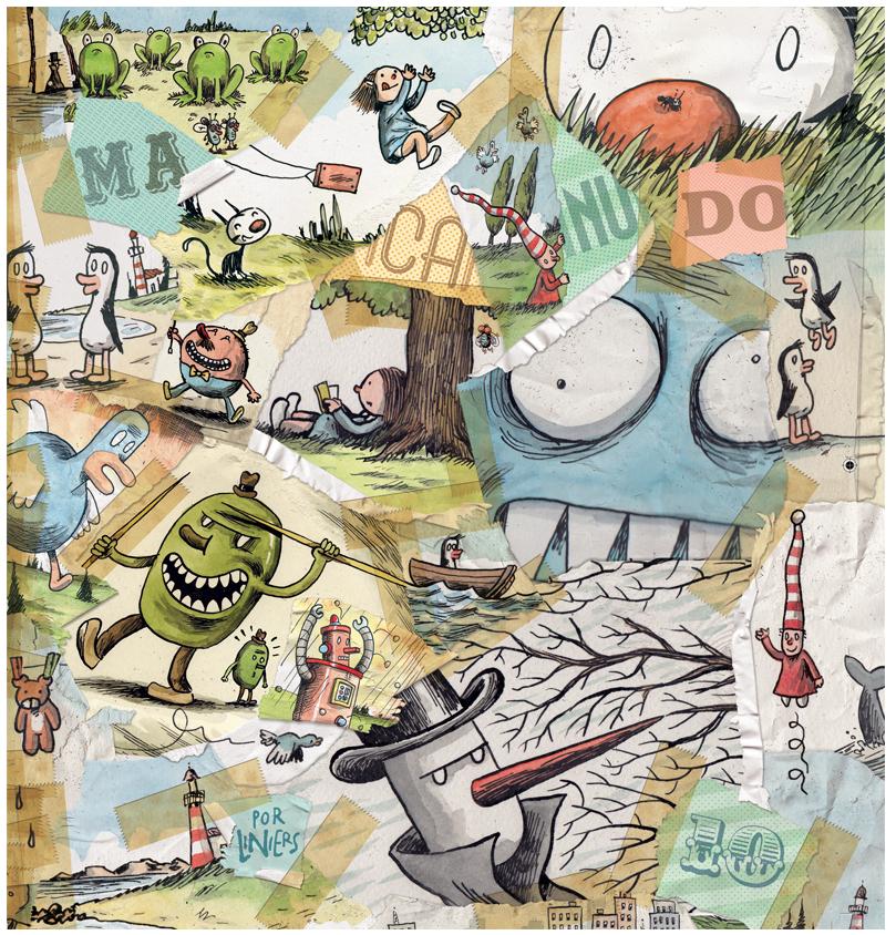 Zarabatana promete para 2019 o 10º volume de Macanudo, de Liniers