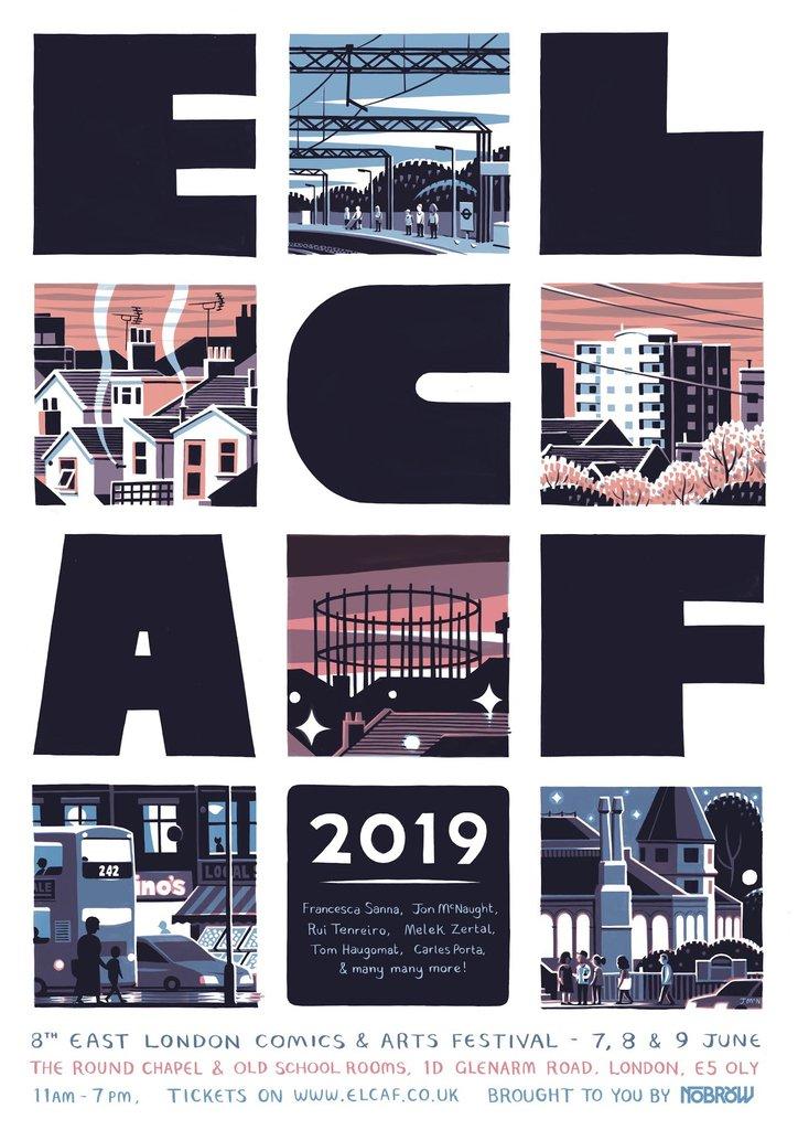 ELCAF 2019, por Jon McNaught