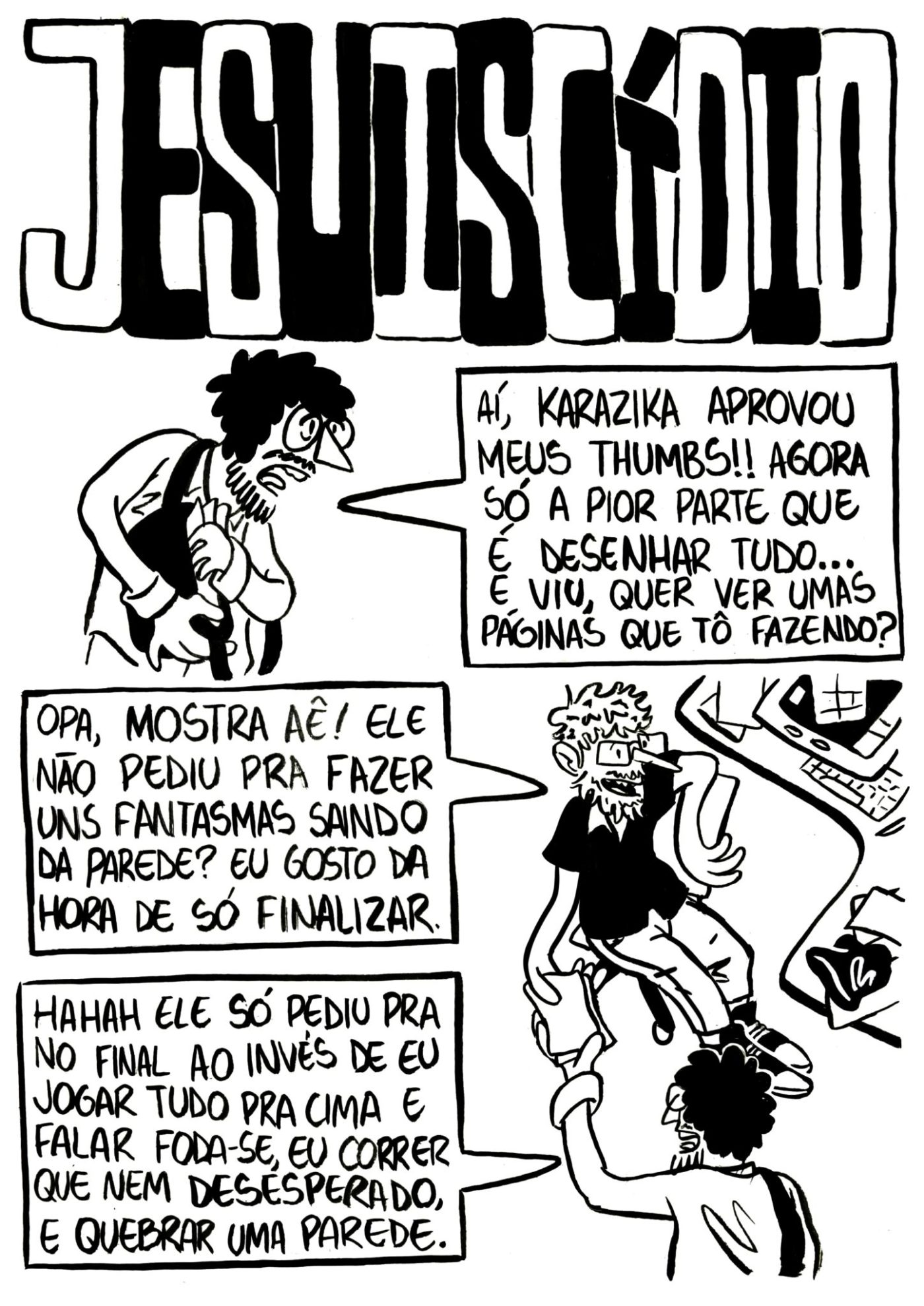 Je Suis Cídio #2, por João B. Godoi