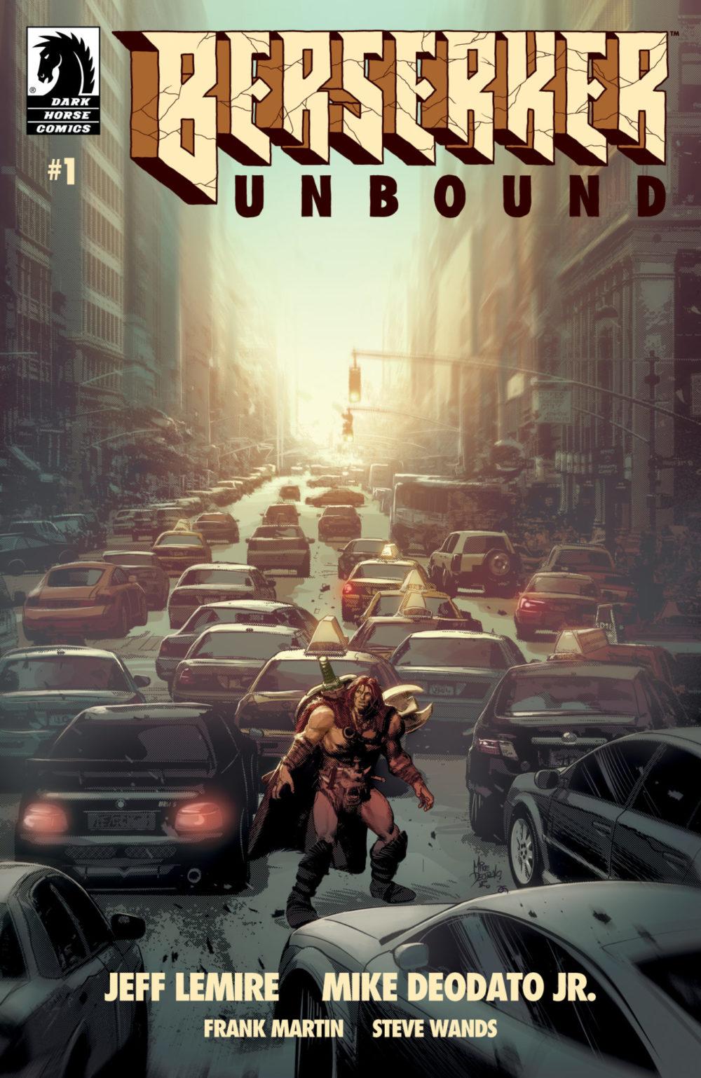 A saída de Mike Deodato Jr. da Marvel e a parceria com Jeff Lemire no épico de ação e feitiçaria Berserker Unbound