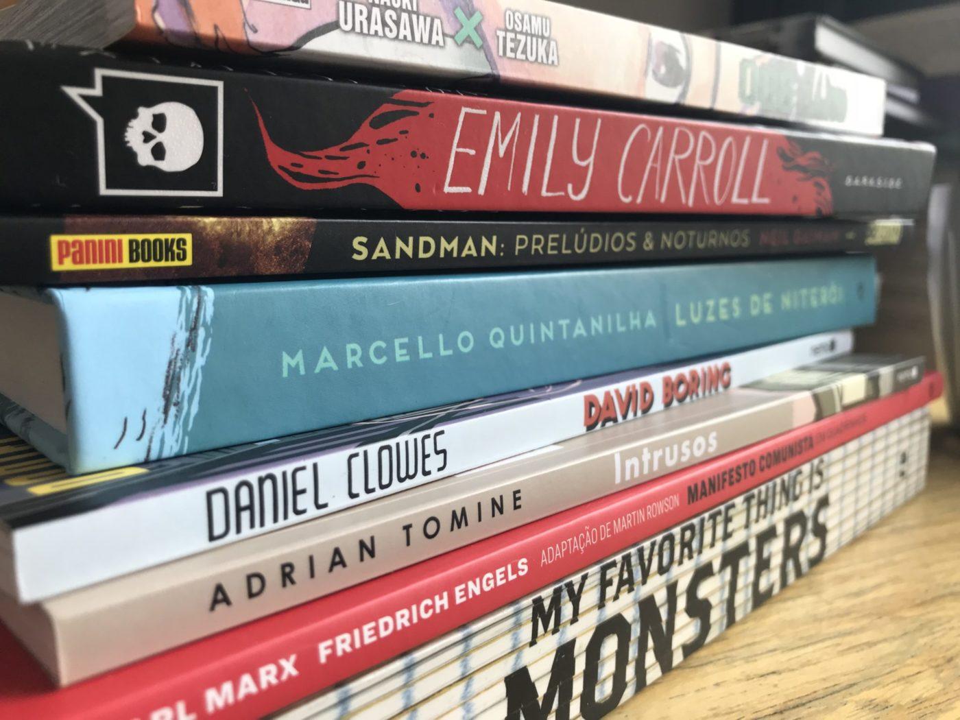 Você deu conta de ler todos os bons quadrinhos publicados em março de 2019?