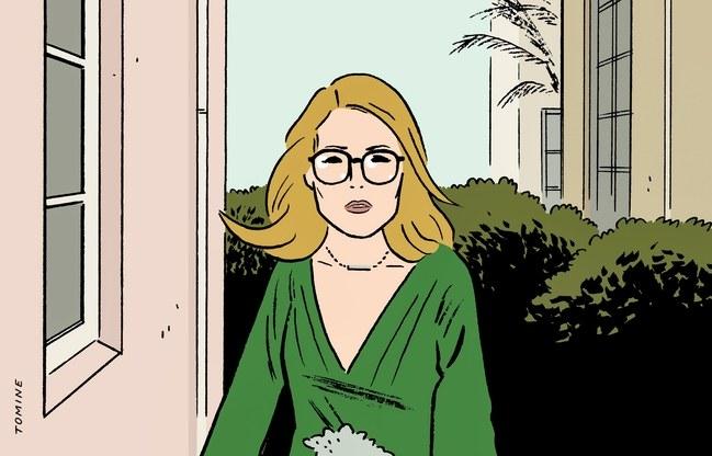 Gloria Bell, por Adrian Tomine