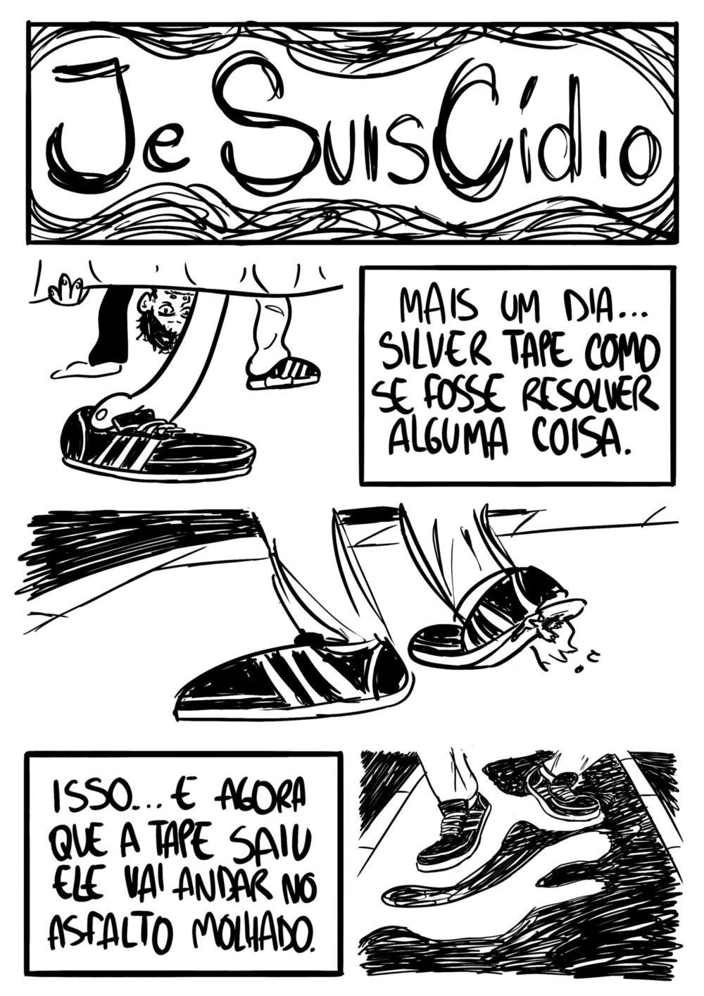 Je Suis Cídio #5, por João B. Godoi