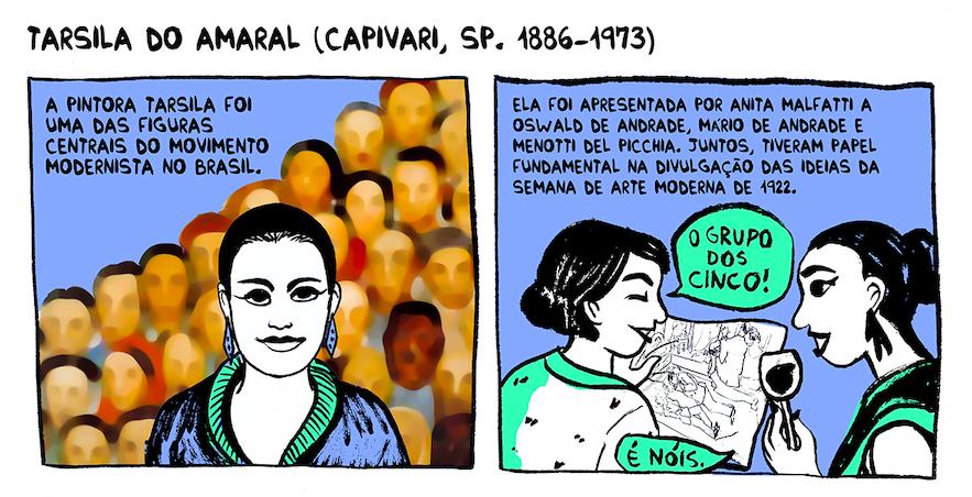 """Papo com Aline Lemos, a autora de Artistas Brasileiras: """"Conhecer e celebrar as artistas esquecidas pela história é um dos objetivos, pois ainda temos carência de materiais e discursos nesse sentido"""""""
