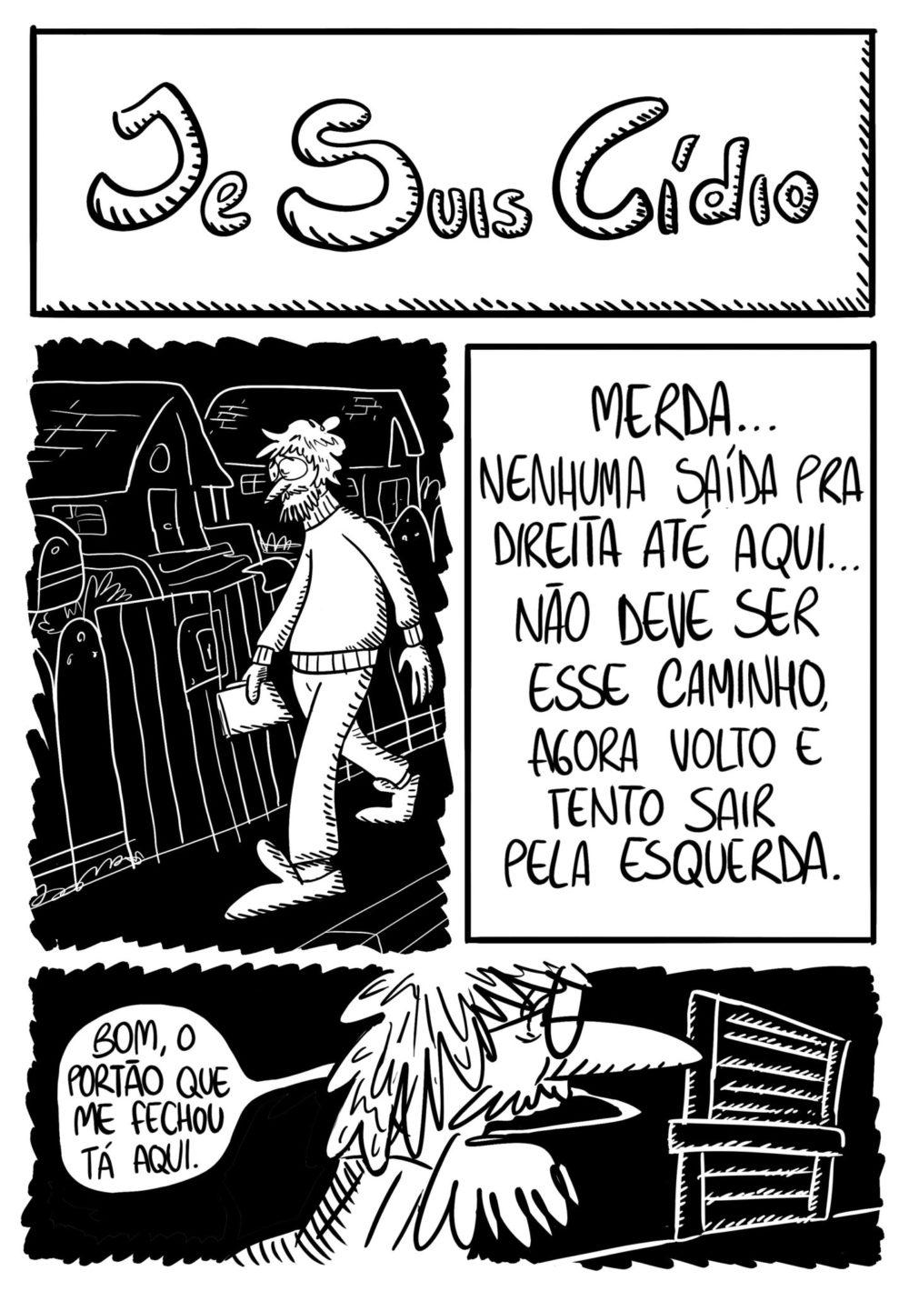 Je Suis Cídio #8, por João B. Godoi