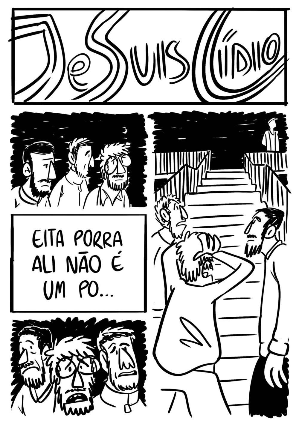 Je Suis Cídio #9, por João B. Godoi