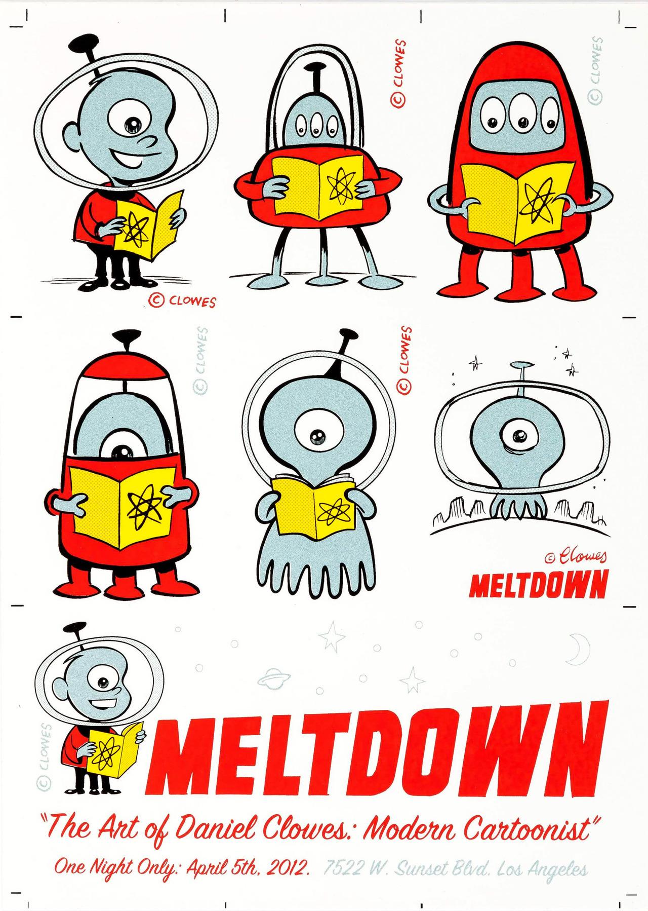 Meltdown Comics, por Daniel Clowes