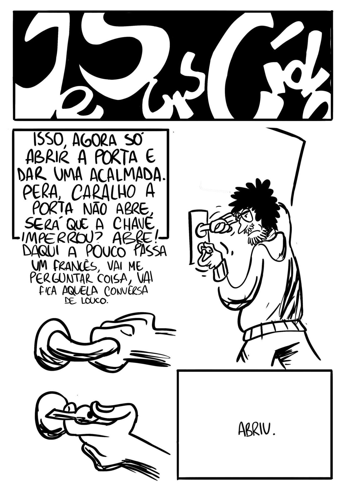Je Suis Cídio #11, por João B. Godoi