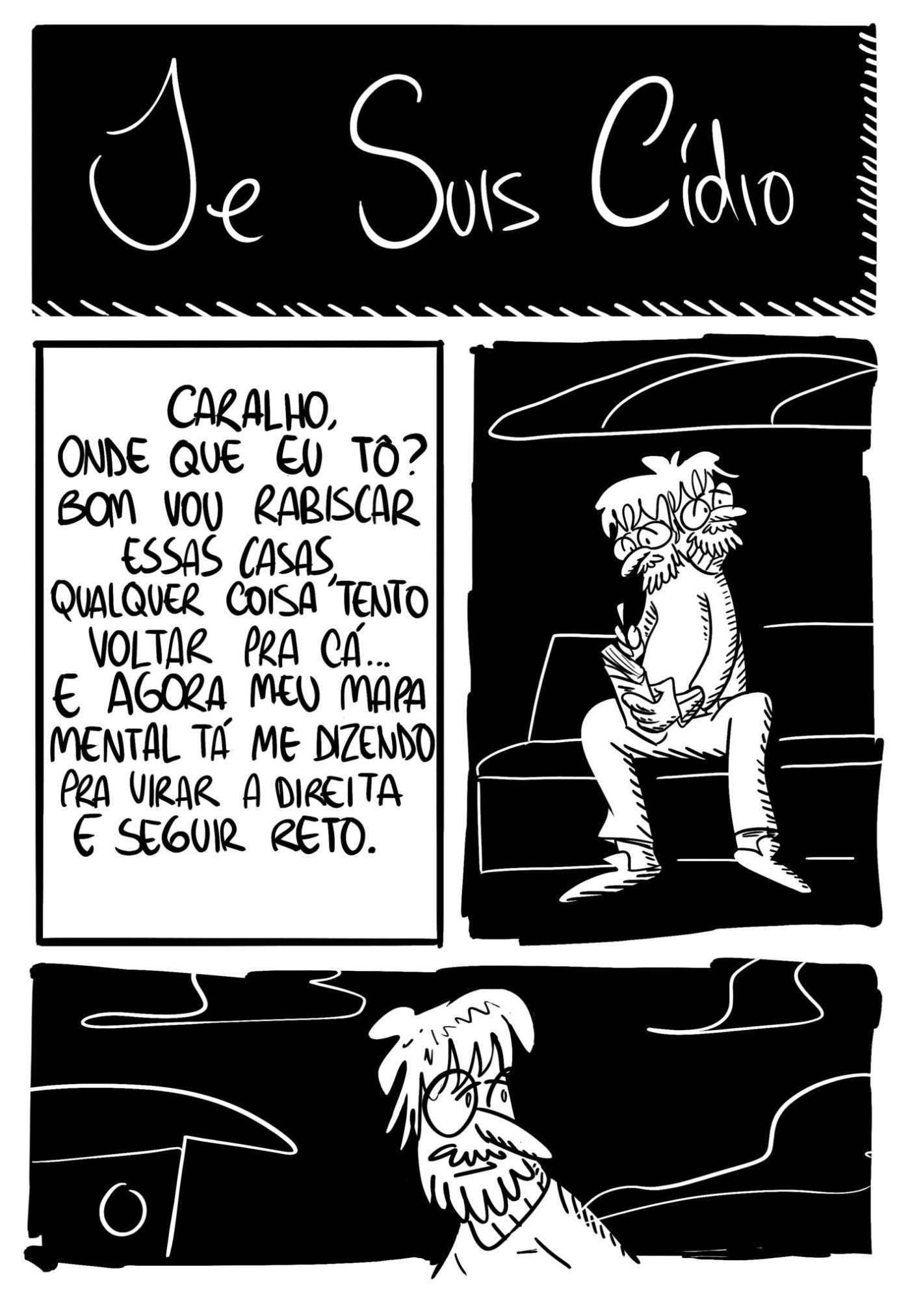 Je Suis Cídio #12, por João B. Godoi
