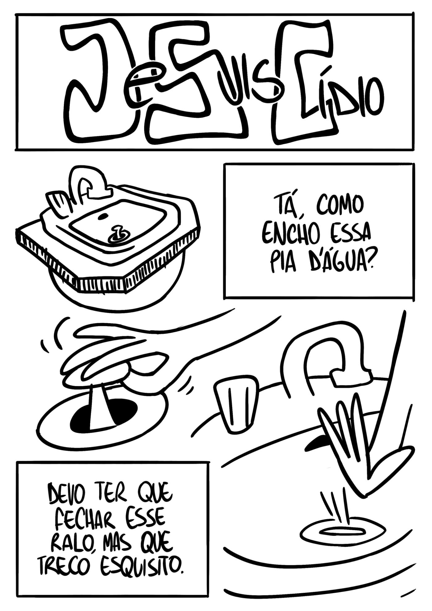 Je Suis Cídio #13, por João B. Godoi