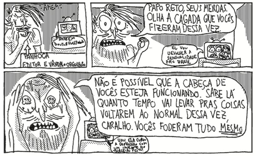 """Papo com Panhoca, editor da revista Pé-de-Cabra: """"É como se o país inteiro tivesse contraído um vírus da imbecilidade máxima"""""""