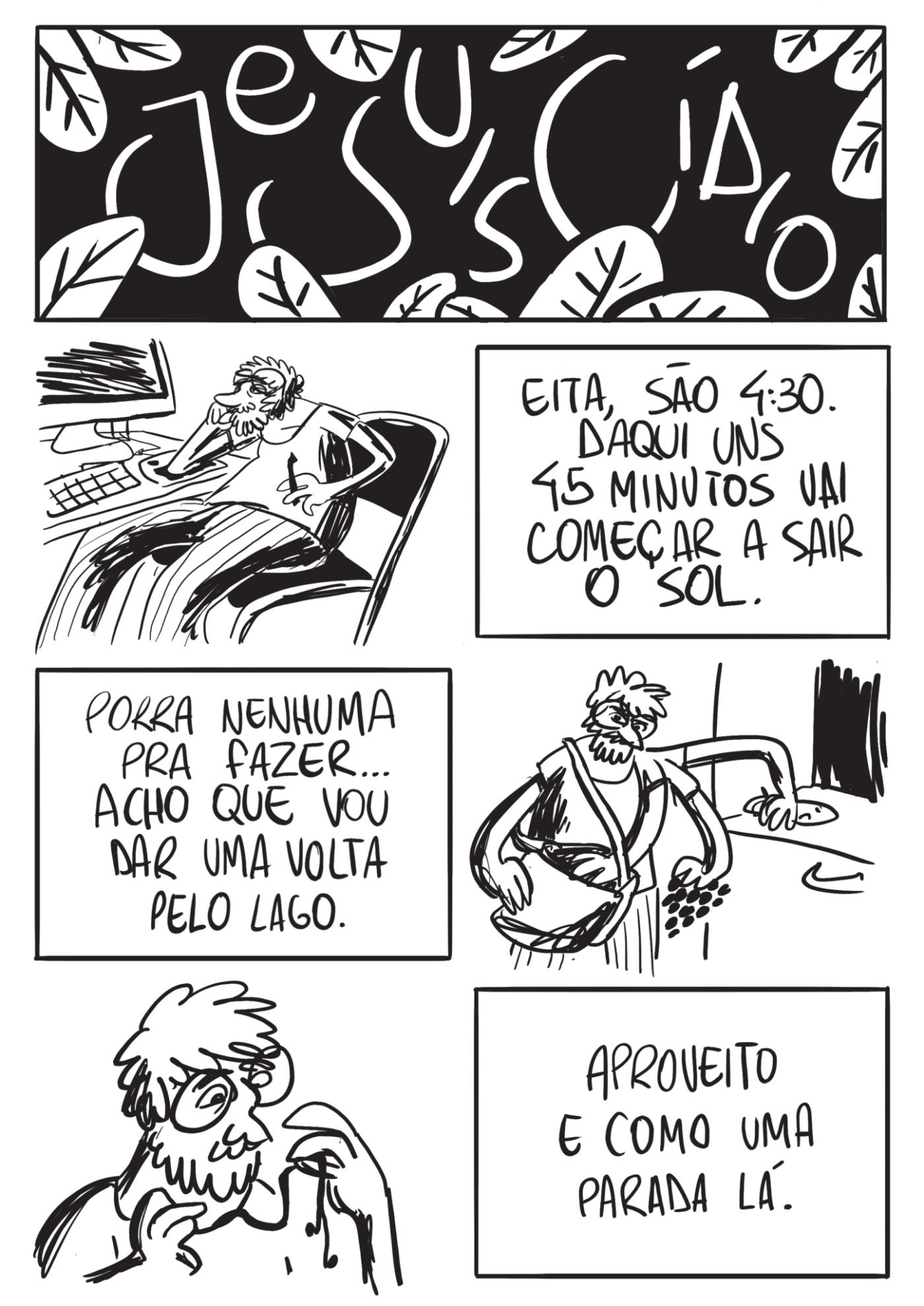 Je Suis Cídio #16, por João B. Godoi