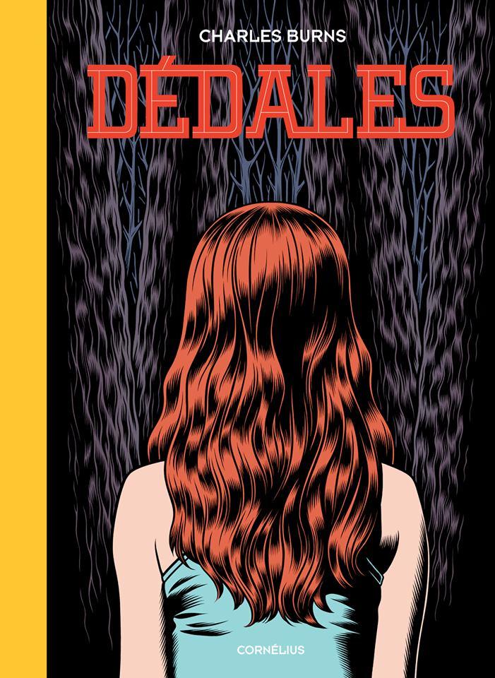 Confira a capa de Dédales, o próximo álbum de Charles Burns