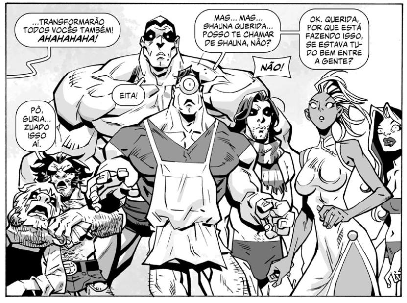 """Papo com Roger Cruz, autor de Os Fabulosos: """"Queria exagerar mais ainda a anatomia, os gestos, as posturas e os discursos dos personagens dos gibis de super-heróis"""""""