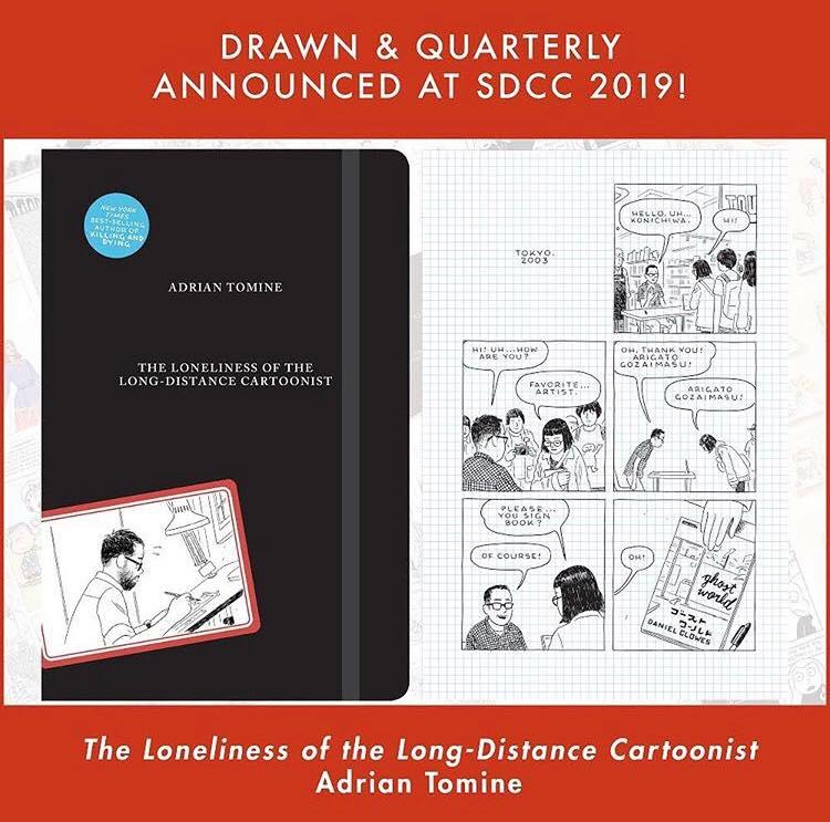 Confira uma prévia de The Loneliness of the Long-Distance Cartoonist, o próximo álbum de Adrian Tomine
