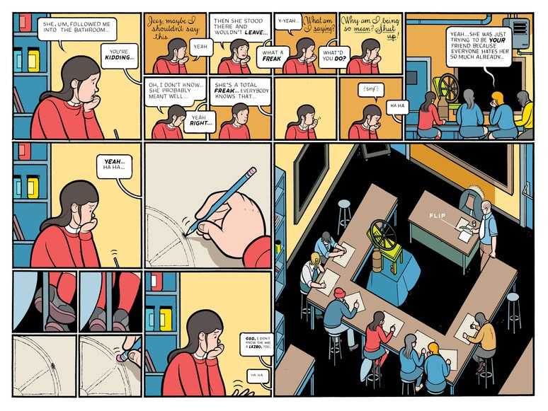 Chris Ware e Chip Kidd conversam sobre HQs, design e Rusty Brown. Ouça!