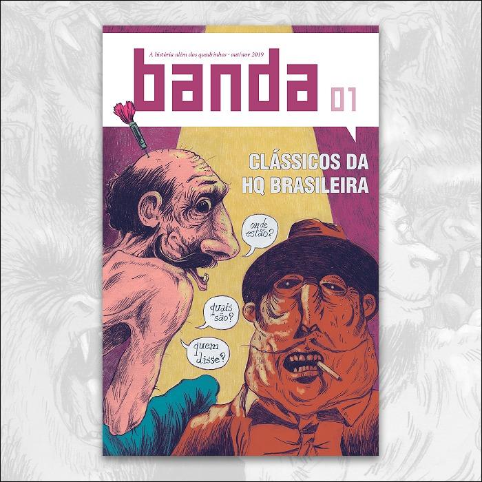 """Papo com Thiago Borges, editor da revista Banda: """"É fundamental a existência de outros veículos com voz própria, que fujam do consumismo e do hype"""""""