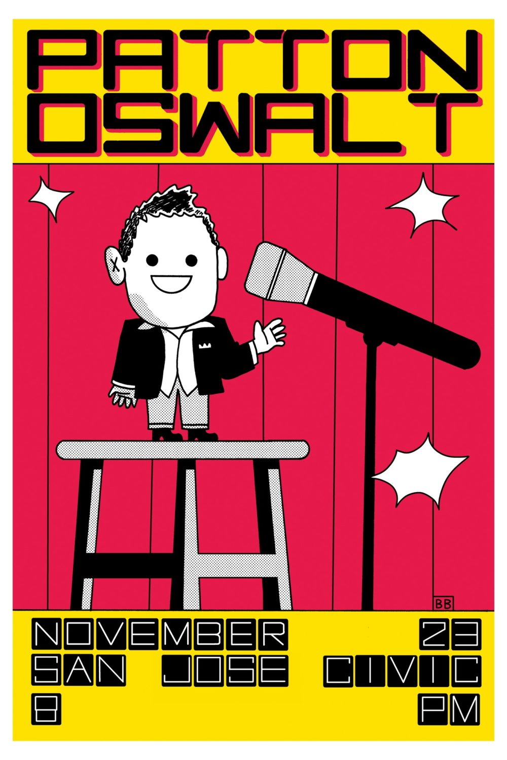 Patton Oswalt, por Box Brown