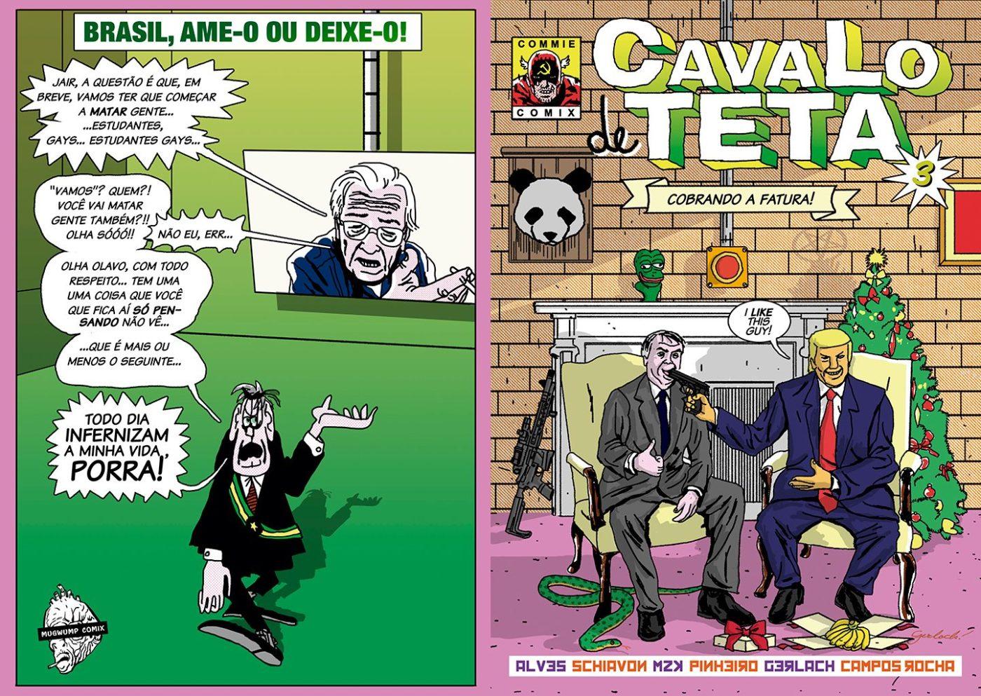 Cavalo de Teta: confira a capa e uma prévia do terceiro número da revista editada por João Pinheiro