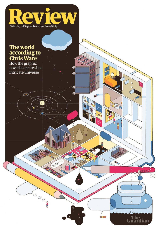 O mundo segundo Chris Ware