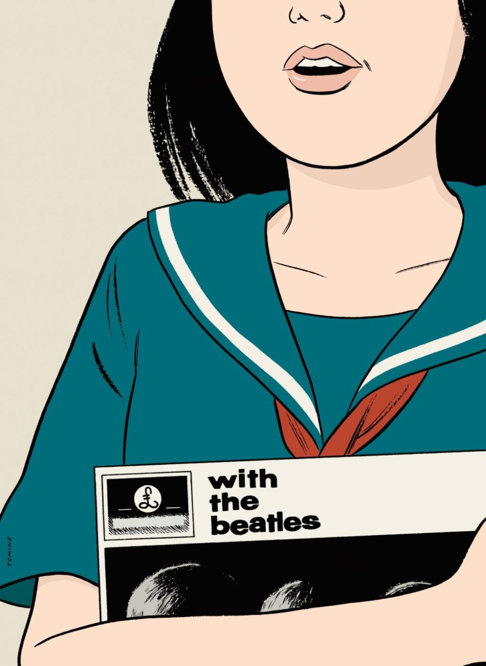 With the Beatles: um conto de Haruki Murakami ilustrado por Adrian Tomine